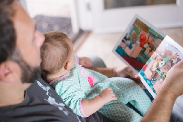 padre-hijo-libro