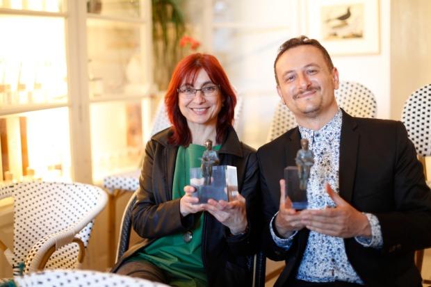 Mónica Rodríguez y David Peña Toribio 'Puño'.