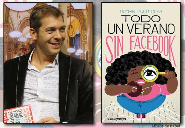 Romain Puértolas, autor de 'Todo un verano sin Facebook'