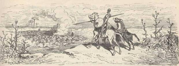Ilustración del 'Quijote'