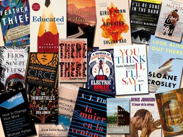 Los mejores libros de 2018, por ahora, según Amazon