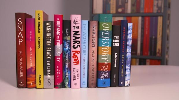 Obras candidatas al Man Booker Prize 2018