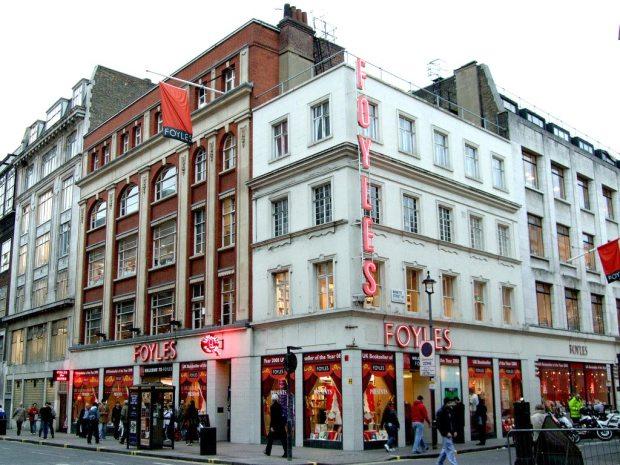 Librería Foyles en Londres